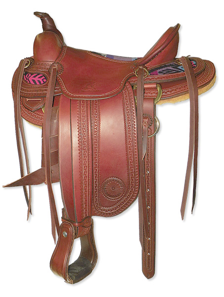 Synergist Custom 1800s Period Saddle - Cheyenne
