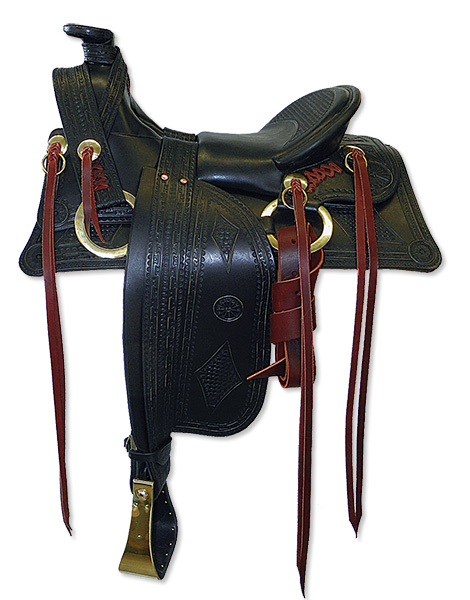 Synergist Custom 1800s Period Saddle - Wamsutter
