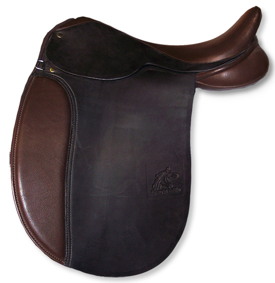 Synergist Custom English Dressage Saddle