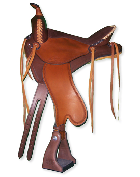 Custom Horse Saddles-Lightweight Trail