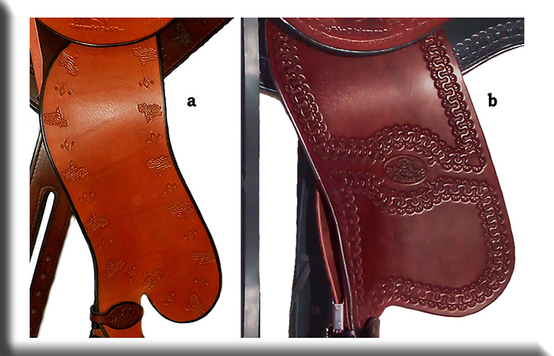 Custom Horse Saddle - Fenders
