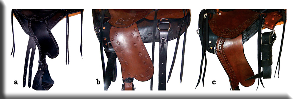 Custom Horse Saddles - Rigging