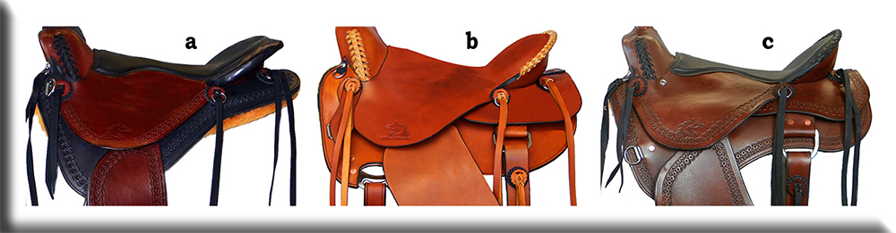Custom Horse Saddles - Skirts