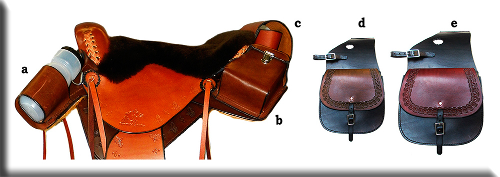 Custom Horse Saddles - Ultimate - Saddle Bags