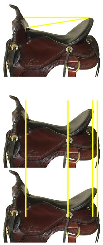 Saddle Seat Size