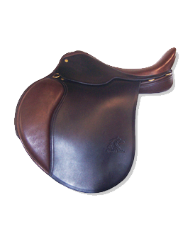 Custom English Saddle