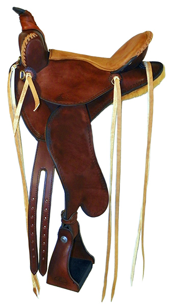 Custom Mule Saddle ~ Lightweight Trail