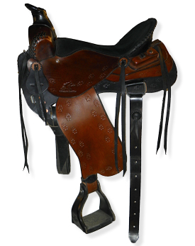 Mule or horse saddles-Custom Western Trail