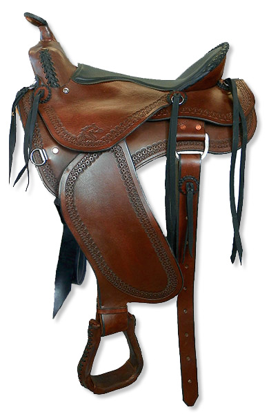 Custom Western Trail Saddles