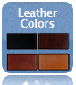 Custom Trail Saddles Leather Colors