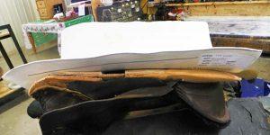 EQUImeasure saddle fitting mold in saddle tree