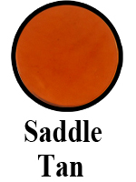 Hand Dyed Saddle Tan
