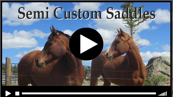 Semi Custom Trail Saddle Video